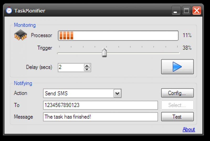 Pantallazo Task Monifier