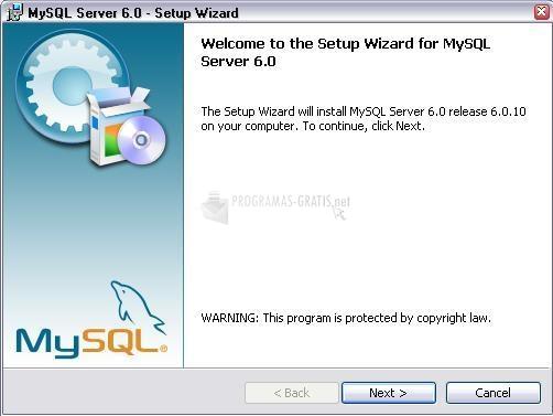 Pantallazo MySql Essentials (Server)