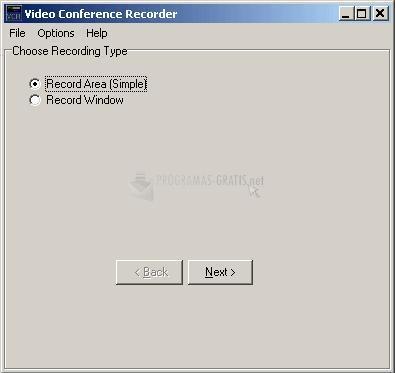 Pantallazo Video Conference Recorder Pro