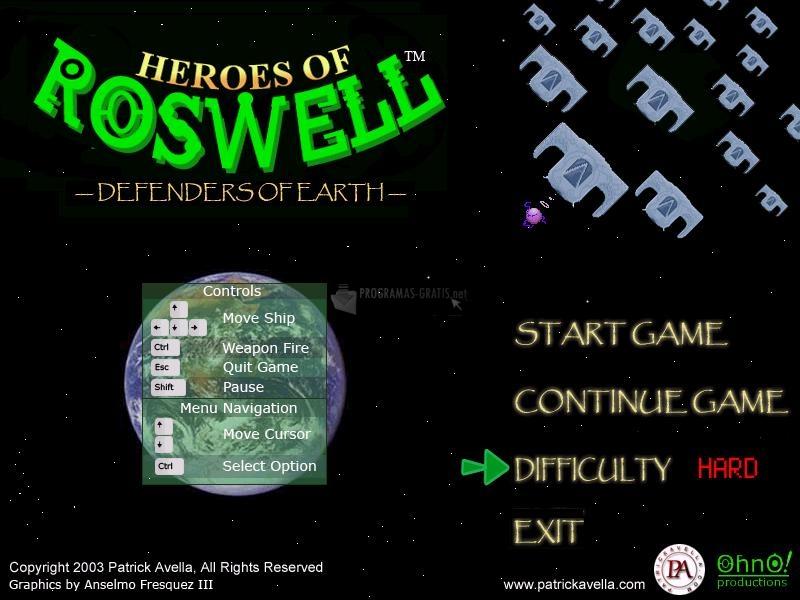 Pantallazo Heroes of Roswell