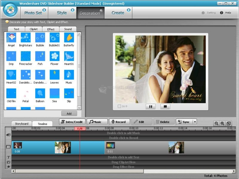 Captura DVD Slideshow Builder