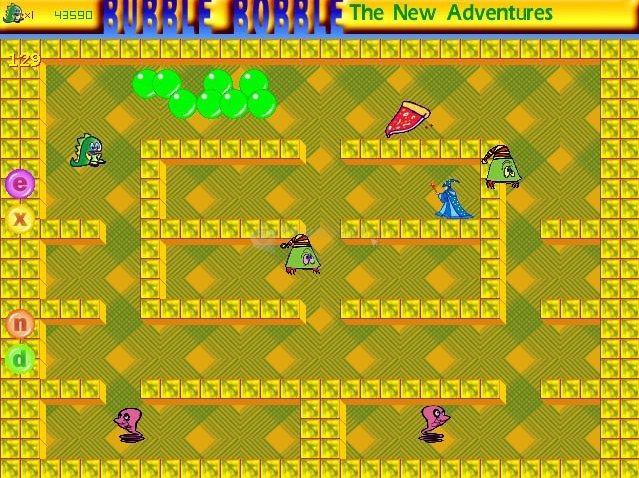 Pantallazo Bubble Bobble Planet