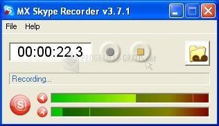 Pantallazo MX Skype Recorder