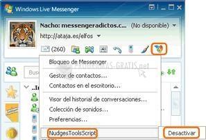 Pantallazo MSN Zumbidos Ilimitados