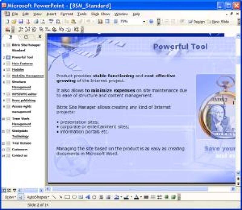 Pantallazo PPT To PDF Scout