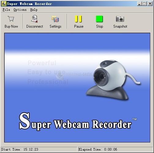Pantallazo Super Webcam Recorder