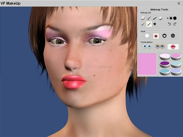 Pantallazo Virtual Fashion MakeUp