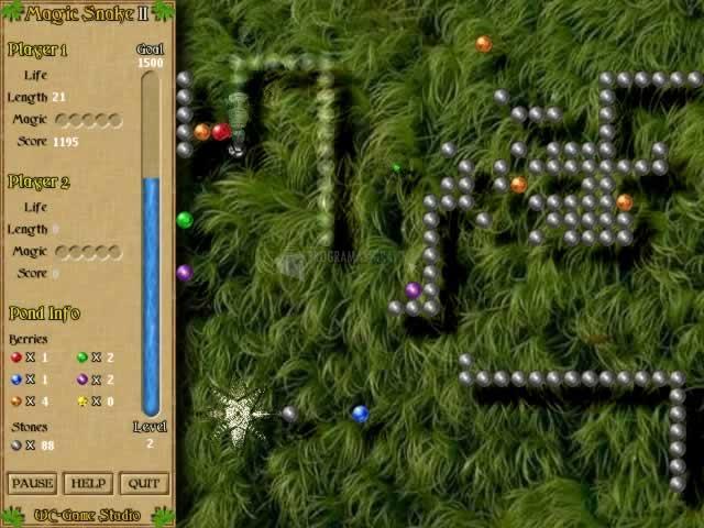 Pantallazo Magic Snake Game II