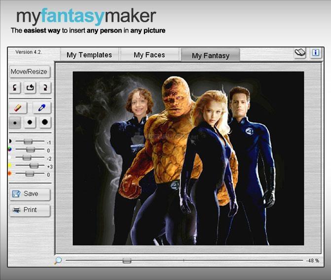 Pantallazo MyFantasyMaker