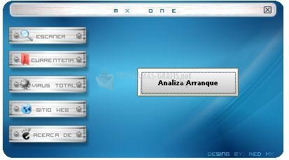 Pantallazo Mx One Antivirus