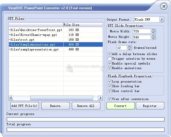 Pantallazo PowerPoint Converter