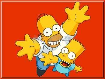 Pantallazo Salvapantallas Simpsons