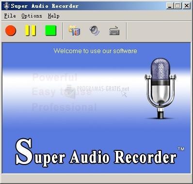 Pantallazo Super Audio Recorder
