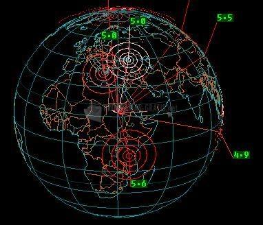 Pantallazo EarthQuake 3D