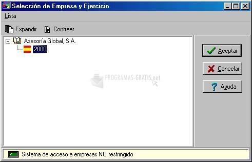 Pantallazo Aniconta 2008 XP