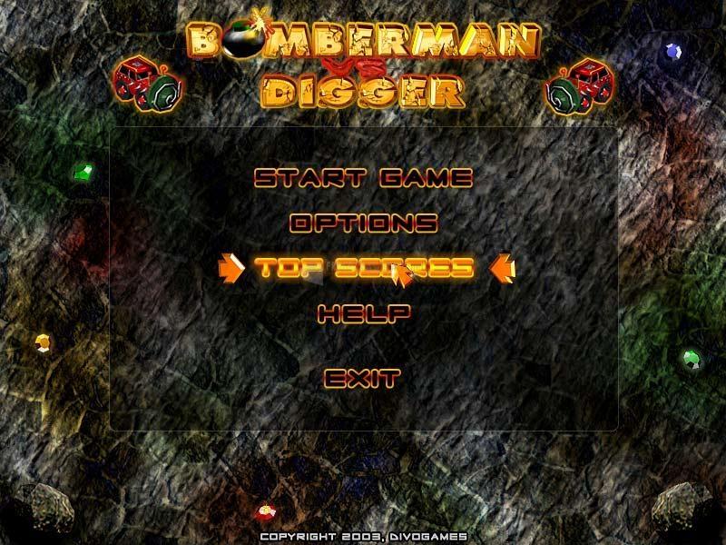 Pantallazo Bomberman vs Digger