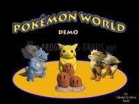 Pantallazo Pokemon World