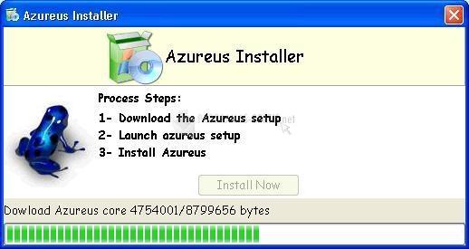 Pantallazo Azureus Installer
