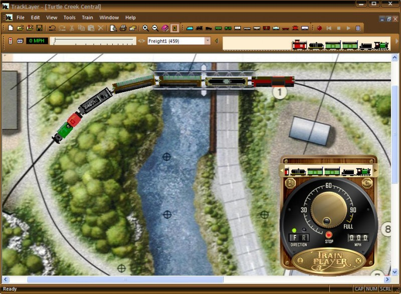 Pantallazo TrainPlayer