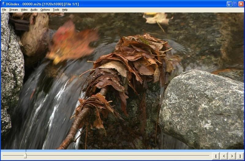 Pantallazo DGMPGDec MPEG2 Decoding Package