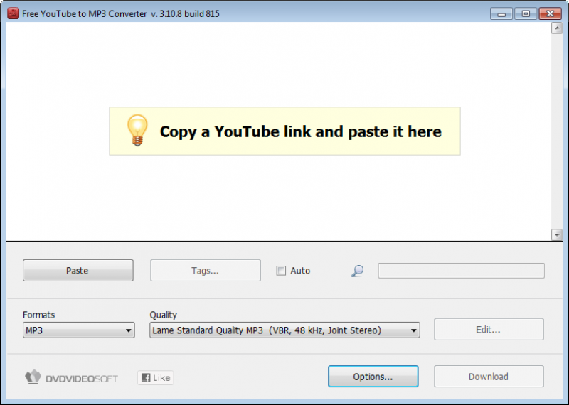 Pantallazo Free YouTube to MP3 Converter