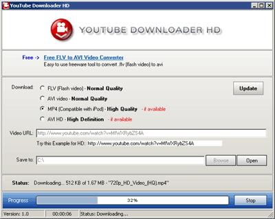 Pantallazo YTB Downloader
