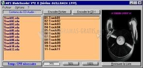 Pantallazo MP3 Blade Encodeur