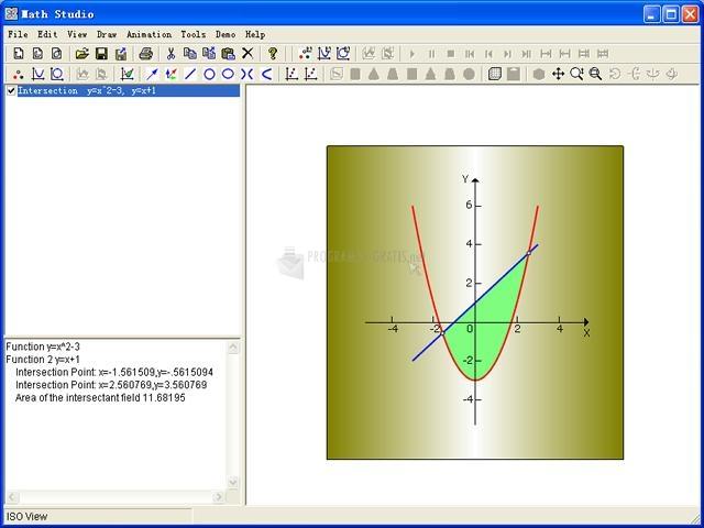 Pantallazo Math Studio