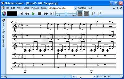 Pantallazo Notation Player