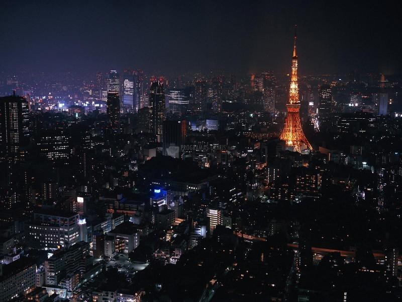 Pantallazo Tokio de Noche