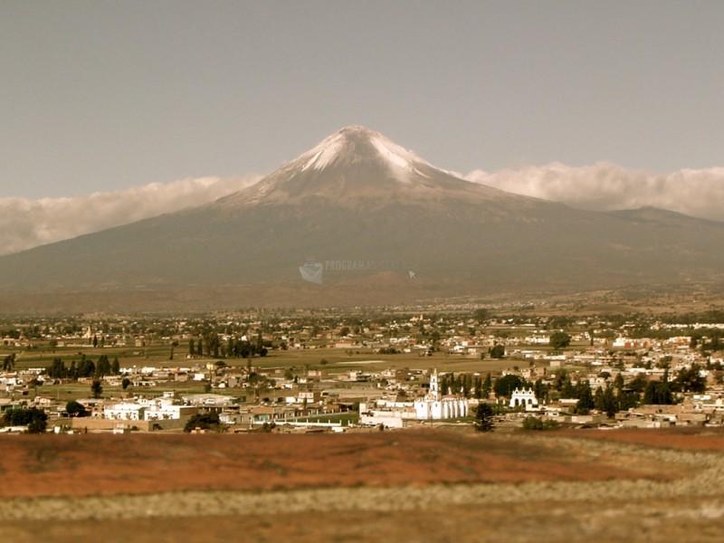 Pantallazo Popocatepetl