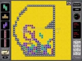 Pantallazo Tetris Adventure