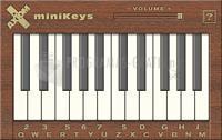 Pantallazo miniKeys Piano