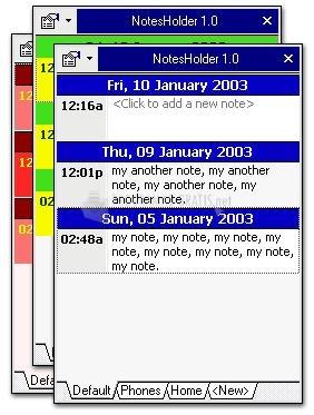 Pantallazo NotesHolder Lite