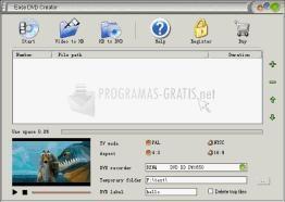 Pantallazo Easy DVD Creator