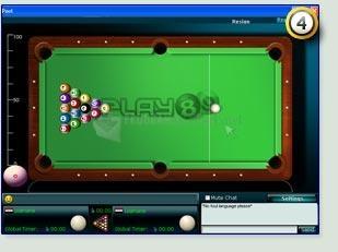 Pantallazo Play89 Billar Pool 8 Ball Online