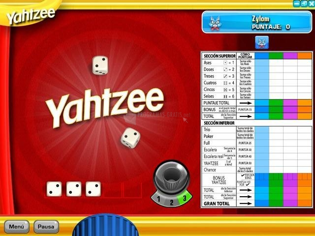 Yahtzee - Descargar gratis en español