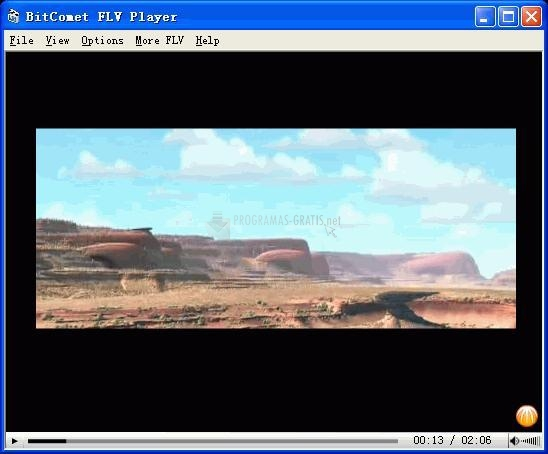 Pantallazo BitComet FLV Player