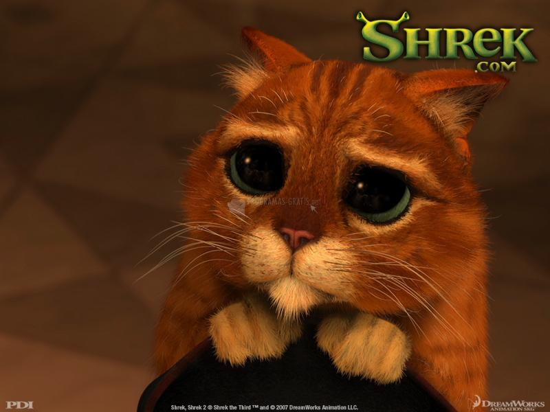 Pantallazo Gato con botas: Shrek 2