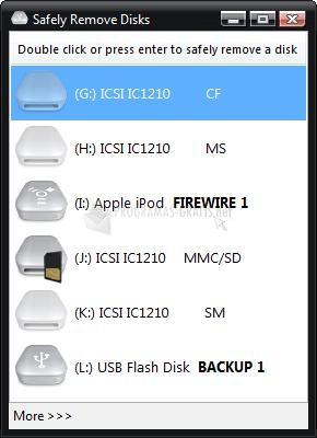 Pantallazo USB Disk Ejector