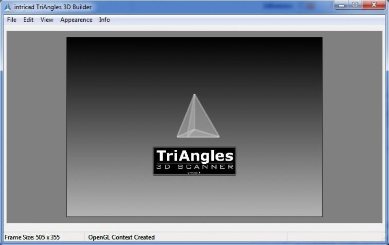 Pantallazo TriAngles 3D Viewer