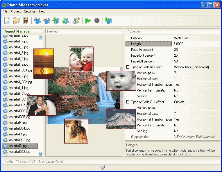 Pantallazo Photo SlideShow Maker