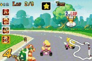 Pantallazo Super Mario Kart Remix: Super Circuit