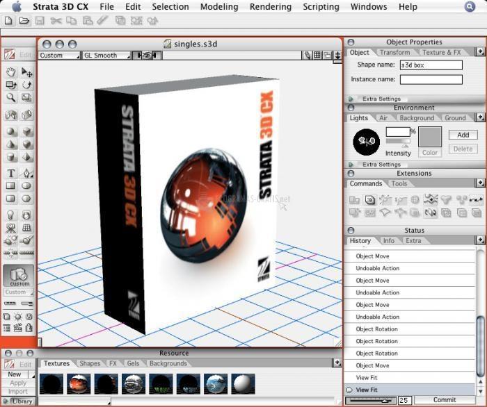 Pantallazo Strata 3DCX