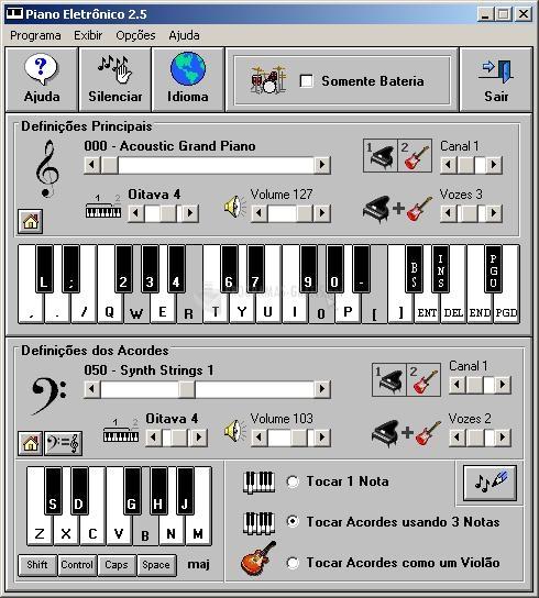 Pantallazo Electronic Piano
