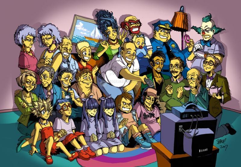 Pantallazo Simpsons por Space Coyote