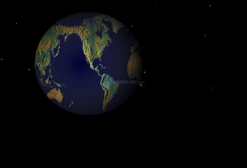 Pantallazo Free Earth 3D ScreenSaver