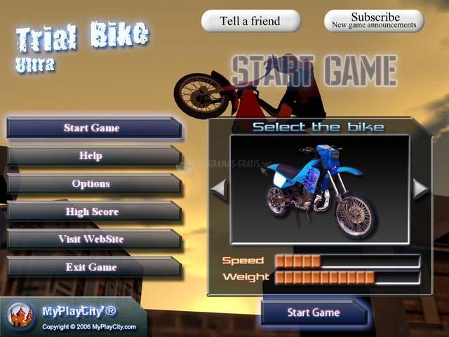 Pantallazo Trial Bike Ultra