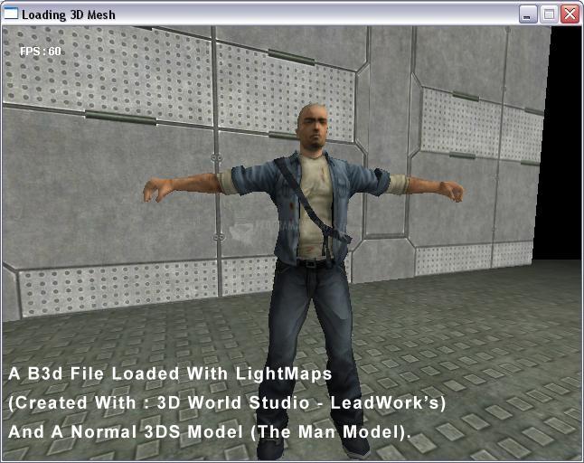 Pantallazo Original3D Game Creator