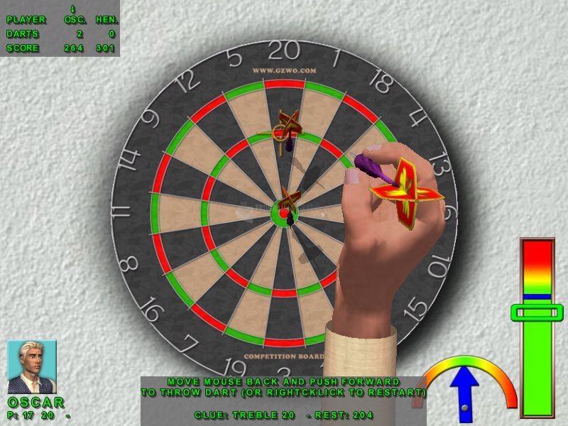 Pantallazo 3D Darts Professional